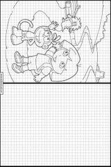 Imprimer le coloriage : Dora, numéro 18857ba4