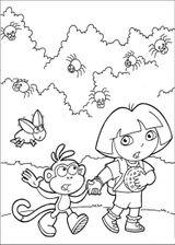 Imprimer le coloriage : Dora, numéro 27870