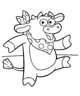 Imprimer le coloriage : Dora, numéro 3469