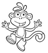Imprimer le coloriage : Dora, numéro 62048