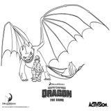 Imprimer le coloriage : DreamWorks, numéro 1d11f753