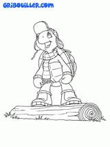 Imprimer le dessin en couleurs : Franklin, numéro 10722