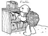 Imprimer le coloriage : Franklin, numéro 2069