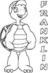Imprimer le coloriage : Franklin, numéro 2923482a