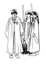 Imprimer le coloriage : Harry Potter, numéro 128239