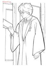 Imprimer le coloriage : Harry Potter, numéro 128264