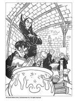 Imprimer le coloriage : Harry Potter, numéro 128265