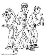 Imprimer le coloriage : Harry Potter, numéro 1645