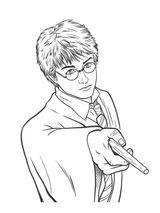 Imprimer le coloriage : Harry Potter, numéro 1653