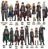 Imprimer le dessin en couleurs : Harry Potter, numéro 19007