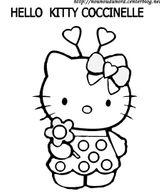 Imprimer le coloriage : Hello Kitty, numéro 10c81271