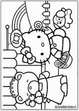 Imprimer le coloriage : Hello Kitty, numéro 113374