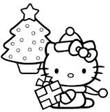 Imprimer le coloriage : Hello Kitty, numéro 113375