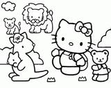 Imprimer le coloriage : Hello Kitty, numéro 113378
