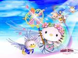 Imprimer le dessin en couleurs : Hello Kitty, numéro 116891