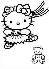 Imprimer le coloriage : Hello Kitty, numéro 127969
