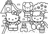 Imprimer le coloriage : Hello Kitty, numéro 127987