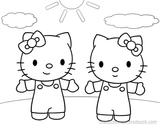 Imprimer le coloriage : Hello Kitty, numéro 16461