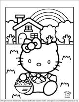 Imprimer le coloriage : Hello Kitty, numéro 627338