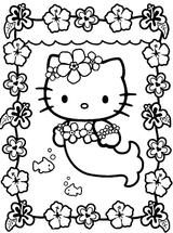 Imprimer le coloriage : Hello Kitty, numéro 8634