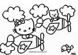 Imprimer le coloriage : Hello Kitty, numéro 8637
