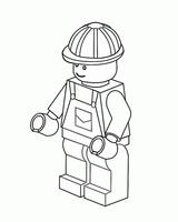 Imprimer le coloriage : Lego, numéro 124626