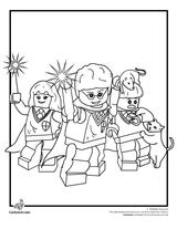 Imprimer le coloriage : Lego, numéro 124645