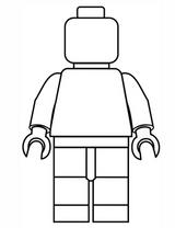 Imprimer le coloriage : Lego, numéro 687073