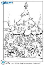 Imprimer le dessin en couleurs : Les Schtroumpfs, numéro 116859