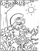 Imprimer le coloriage : Les Schtroumpfs, numéro 127948