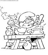 Imprimer le coloriage : Les Schtroumpfs, numéro 145557