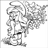 Imprimer le coloriage : Les Schtroumpfs, numéro 180706
