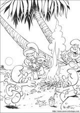 Imprimer le coloriage : Les Schtroumpfs, numéro 262372