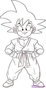 Dessins En Couleurs A Imprimer Son Goku Numero 12637