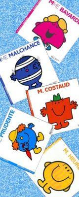 Imprimer le dessin en couleurs : Monsieur Madame, numéro 10696
