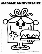 Imprimer le coloriage : Monsieur Madame, numéro 15c58038