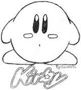 Imprimer le coloriage : Kirby, numéro 113829