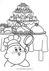 Imprimer le coloriage : Kirby, numéro 129623