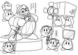 Imprimer le coloriage : Kirby, numéro 15098
