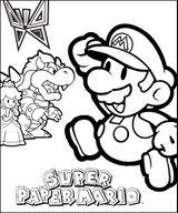 Coloriages à Imprimer Super Mario Page 1