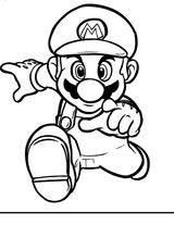 Coloriages A Imprimer Super Mario Page 1