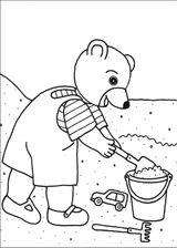 Imprimer le coloriage : Petit Ours brun, numéro 14881