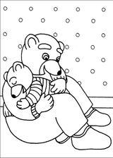 Imprimer le coloriage : Petit Ours brun, numéro 14883
