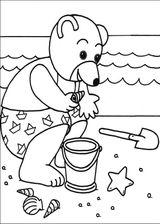 Imprimer le coloriage : Petit Ours brun, numéro 14887