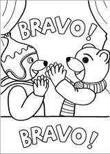 Imprimer le coloriage : Petit Ours brun, numéro 14889