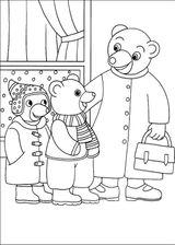 Imprimer le coloriage : Petit Ours brun, numéro 16133