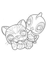 Imprimer le coloriage : Petshop, numéro 128109