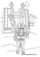 Imprimer le coloriage : Playmobil, numéro 182886