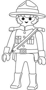Imprimer le coloriage : Playmobil, numéro 28883