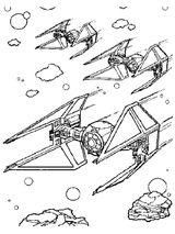 Imprimer le coloriage : Star Wars, numéro 1095